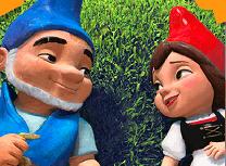 Gnomeo si Julieta Puzzle