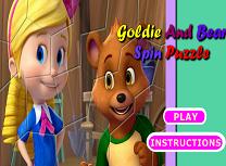 Goldie si Ursulet de Facut Puzzle