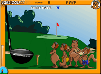 Golf cu Veverite