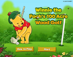 Golf cu Winnie the Pooh