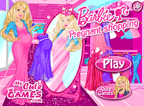Gravida Barbie la Cumparaturi