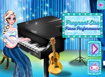 Gravida Elsa Canta la Pian
