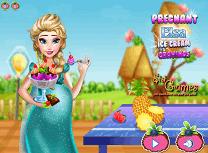 Gravida Elsa Pofta pe Inghetata