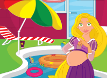 Gravida Rapunzel Curata Piscina