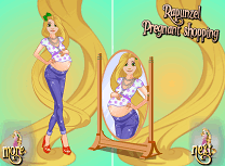 Gravida Rapunzel la Cumparaturi