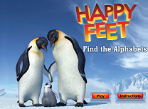 Happy Feet Litere Ascunse