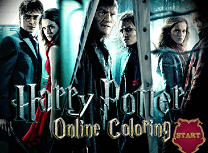 Harry Potter de Colorat 2