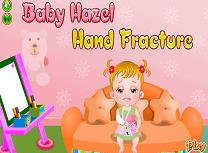 Hazel Fractura la Mana