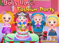 Hazel Petrecere la Moda