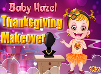 Baby Hazel Thanksgiving