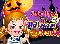 Hazel Tinuta de Halloween