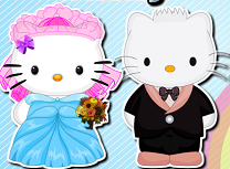 Hello Kitty Coafura de Nunta