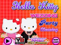 Hello Kitty Curatenie Dupa Nunta