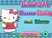 Hello Kitty Curatenie in Casa