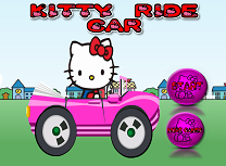 Hello Kitty Cursa cu Masina