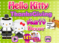 Hello Kitty Decor de Ziua Recunostintei
