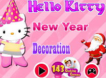 Hello Kitty Decoratii de Anul Nou