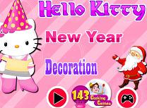 Hello Kitty Decoratii de Anul Nou