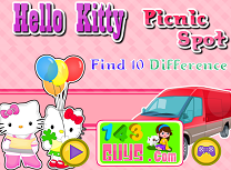 Hello Kitty Diferente la Picnic