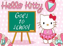 Hello Kitty Merge la Scoala