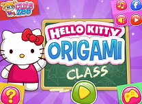 Hello Kitty Origami