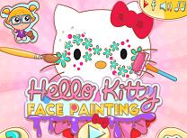 Hello Kitty Picturi pe Fata