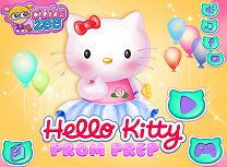 Hello Kitty Pregatiri de Bal