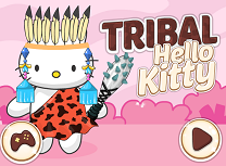 Hello Kitty Stil Tribal