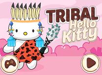 Hello Kitty Stil Tribal