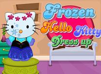 Hello Kitty Stilul Frozen
