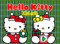Hello Kitty de Craciun
