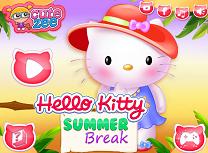 Hello Kitty in Vacanta de Vara
