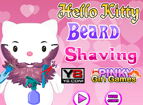 Helo Kitty Rade Barba