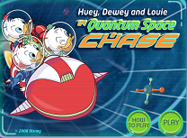 Huey Dewey si Louie In Spatiu