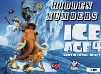 Ice Age 4 Numere Ascunse
