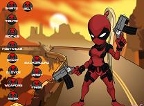Imbraca Fata Deadpool