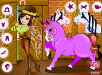 Imbraca Fata si Unicornul