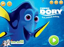 In Cautarea lui Dory de Colorat