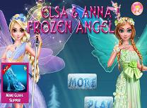 Ingerii Anna si Elsa
