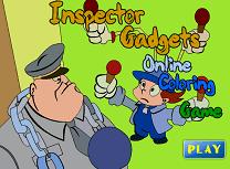 Inspectorul Gadget de Colorat