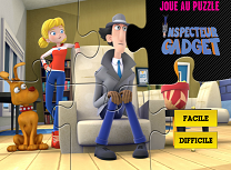 Inspectorul Gadget de Facut Puzzle