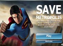 Intoarcerea lui Superman Salveaza Metropolis