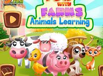 Invata Animalele de la Ferma