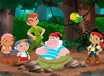 Jake si Piratii cu Peter Pan