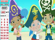 Jake si Piratii din Tara de Nicaieri Numere Ascunse