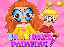 Jane Pictura pe Fata