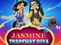 Jasmine Diva pe Snapchat