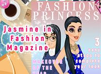 Jasmine in Revista Modei