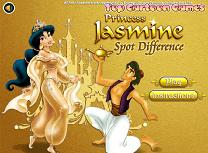Jasmine si Aladdin Diferente