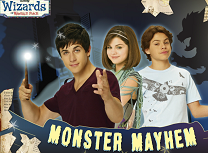 Jocuri cu Magicienii din Waverly Place si Monstri